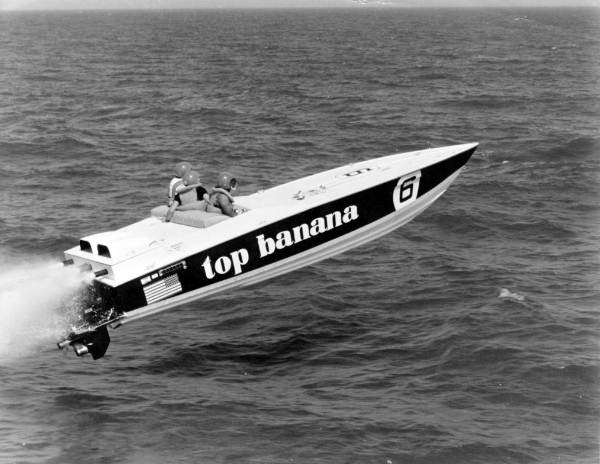 Charlie Mccarthy S Banana Boat Co Racing
